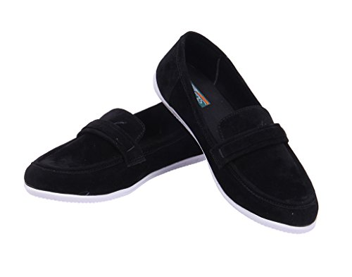 Goyal Black Casual Loafers