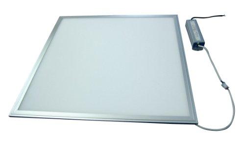 A Energieklasse LED Panel 62 x 62 cm Odenwald- oder Kassettendecke oder zum abhängen / 36 W Leistung / Lichtstrom 3000lm schön hell Tageslicht / Premium Qualität / Aluminium
