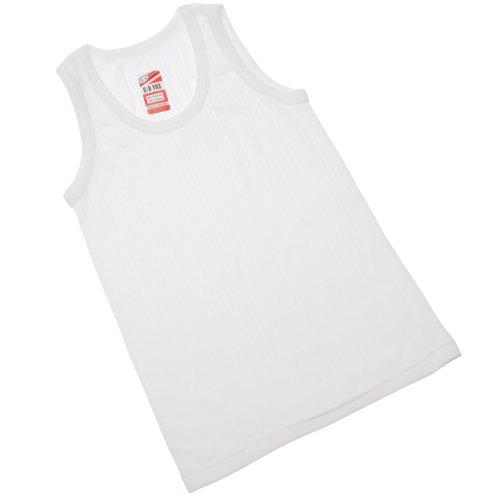 Textiles Universels Débardeur Thermique - Garçon (6-8 Ans, Poitrine: 61-66 cm) (Blanc)