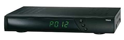 Triax S-150 Hybrid HDTV-Satelliten-Receiver (Internetfunktion, HbbTV, SmartTV-Portal, HDMI, USB, Ethernet, WiFi-Ready)