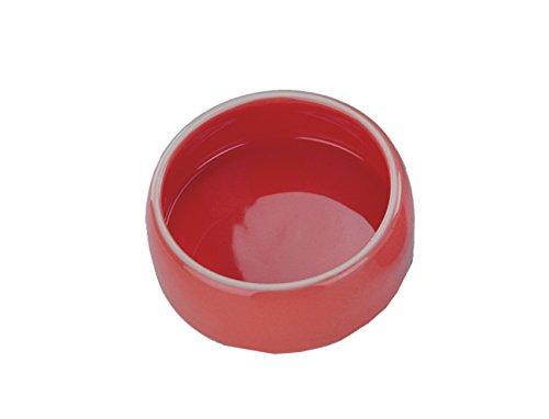 Nobby Keramik Futtertrog rot 250 ml Rote Keramik