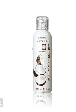 Nature Hair Oil with 100% Coconut Oil 100ml  available at amazon for Rs.139