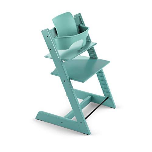 Coj/ín asiento para Stokke Tripp Trapp /♥ Plastificado /♥ Cactus blanco