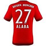 FC Bayern Alaba Trikot Home 2016, L