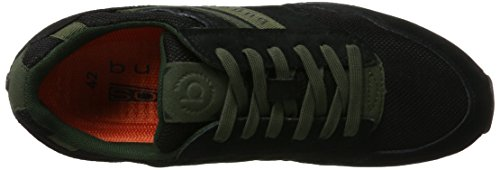 Bugatti 322308013559, Sneakers Basses Homme Noir (Black / Black)