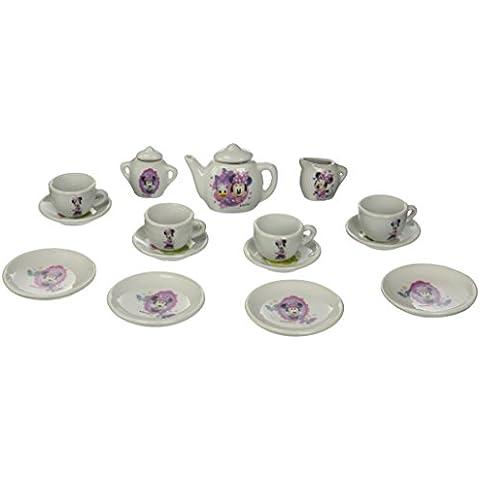 Disney - Minnie Mouse - Porcelana juego de té - 17 Piezas