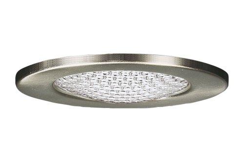 Paulmann 98404 Möbel EBL Set Schutzglas strukt. 3x20W 70VA 230/12V G4 66mm Eisen g/Stahl/Glas - 230 Italienischen Eisen