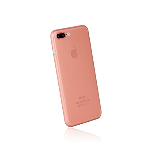 hardwrk Ultra-Slim Case - kompatibel mit Apple iPhone 7 Plus und 8 Plus - roségold - ultradünne Schutzhülle Handyhülle Cover Hülle rosé Gold - kabelloses Laden - Qi - Wireless Charging -