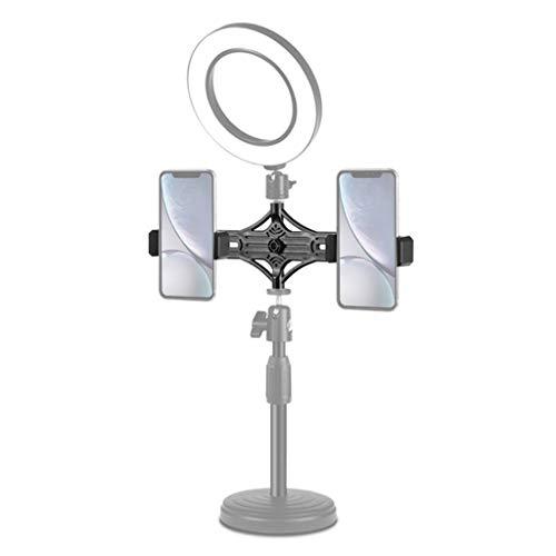 Anchor Ring Fill Light Desktop-Ständer, höhenverstellbar, runde Basis, Desktop-Montage, LED-Ring-Vlogging-Videoleuchte -