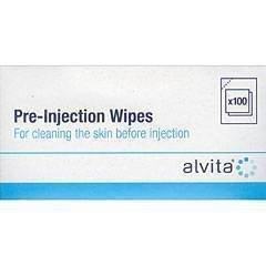 alvita-lot-de-100-lingettes-avant-injection-a-lalcool-isopropilyquea-70a-
