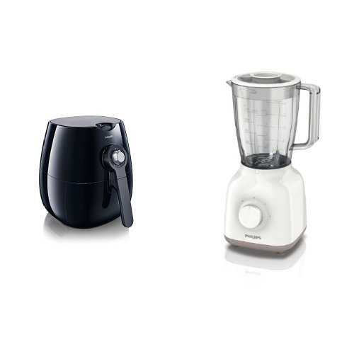 Philips HD9220/20 AirFryer + Philips HR2100/00 batidora Daily Collection