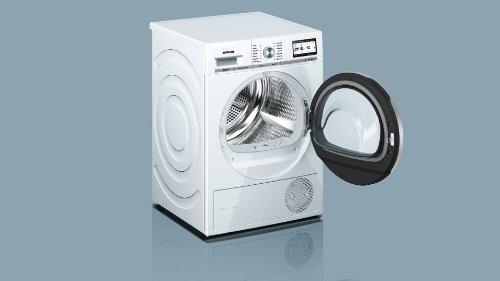 Siemens iQ800 WT47Y701 iSensoric Premium-Wärmepumpentrockner / A++ / 8 kg / Weiß / Selbstreinigender Kondensator / SoftDry-Trommelsystem / TFT-Display - 5