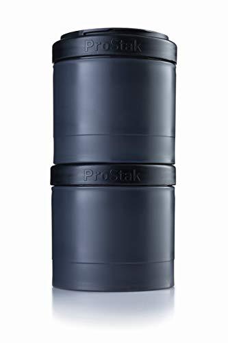 BlenderBottle ProStak Expansion Pak -  2 Pak Container (2x 250ml) inklusive 1. Pillenfach (Blender Topf)
