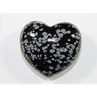 Schneeflocke Obsidian handgeschnitzt Kristall Herz preisvergleich bei billige-tabletten.eu