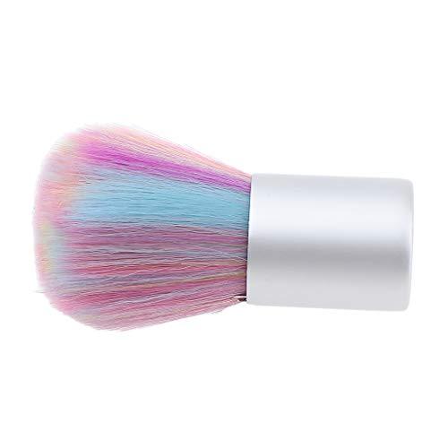 CUTICATE Praktisch Nail Art Pinsel Acryl UV Gel Nagellack Pulver Staub Remover Bürste Nagel...