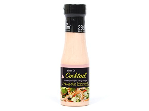 2Bslim Thousand Island Dressing, Cocktail Sauce, zuckerfrei, 250ml