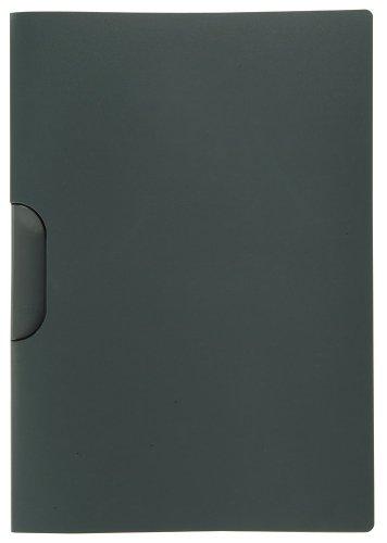 ELBA 100421010 Klemm-Mappe 10er Pack mit clip-fix-System anthrazit