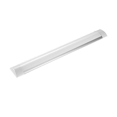 60cm LED-Deckenleuchte Schrank-Licht,LED-Streifen-Licht Super helles,Supermarktbeleuchtung für Schrank, 3 Modi LED Küchenleuchte Neutralweiß 4000K -