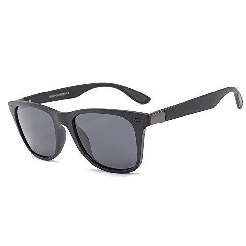 Yiph-Sunglass Sonnenbrillen Mode TR90 Brillengestell TAC1.1 Polarized Sonnenbrillen Damen Herren Fahrbrille (Farbe : C1, Größe : Free Size)