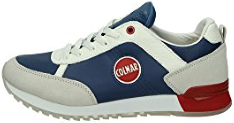 Colmar TRAVIS ORIGINAL scarpe da ginnastica ginnastica ginnastica Uomo Tessuto ROYAL ROYAL 41 | Ufficiale  3fb41a