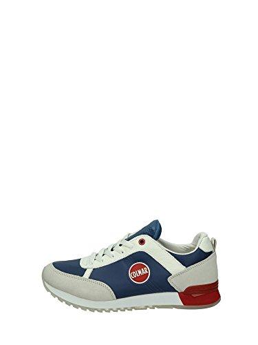 COLMAR Travis Originals 148 scarpe sportive uomo lacci TESSUTO PELLE BURGUNDY BORDEAUX Beige