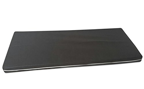 Matratze Rollmatratze RG30 7 ZONEN MATRATZE mit Vlies Bezug anthrazit (140 x 200 cm)