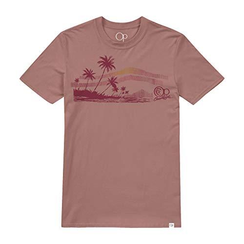 Ter Terracotta (Ocean Pacific Herren Surf Sketch T-Shirt, Braun (Terracotta TER), Large)