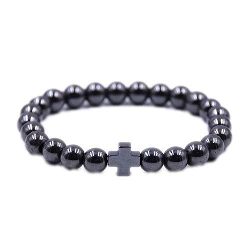CNSP VIVIZEY Armband Armreif,Schmuck Geschenk,Buddha Bracelet Men Bracelets for Women Mens Jewelry Dragon 8mm Stone Beads Elastic Bracelet