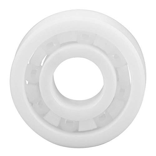Akozon Mini keramisches Kugellager 695 ZrO2 Vollkeramiklager 5 * 13 * 4mm Rillenkugellager für Spinnmaschine Zappeln Fingerspitzen-Spielzeug