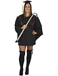 Headmistress Black Dress Set Head-Mistress Teacher Robes Fancy Dress