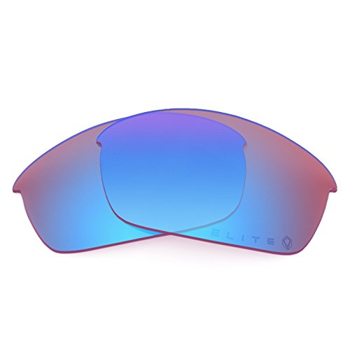 Verres de rechange pour Oakley Flak Jacket Asian Fit — Plusieurs options Elite Syncline Rose MirrorShield®