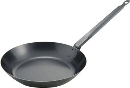 MT bluing iron frying pan 28cm 4114028 (Japan import / The package and the manual are written in Japanese)