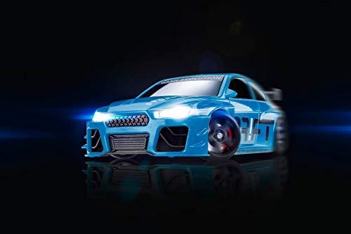 DR!FT Racer Blue Blizzard Gymkhana Edition ferngesteuertes Drift Auto, Rc Car mit realistischer Fahrdynamik zur Steuerung mit iPhone oder Android, reales Fahrverhalten simuliert via App (Ferngesteuerte Autos Drift)