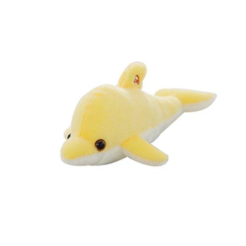 offtier Fisch Delphin,kreatives Nachtlicht LED Spielzeug (Wie Fische Schlafen)