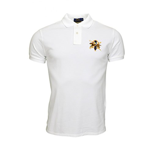 Ralph Lauren Herren Poloshirt Weiß