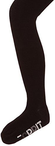 ESPRIT Foot LogoTI 19423 Unisex - Kinder Strumpfhosen/ Strickstrumpfhosen, Gr. 110-116 ,Schwarz(black)