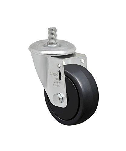 Gray Brake 2 70 lbs GLAP 210 NPP FPI-GB 50 mm Swivel Brake Caster Swivel Brake Caster Plate: 1-21//32 x 1-21//32 Plate: 1-21//32 x 1-21//32 GLAP 200 NPP FPI Non-Marking Polypropylene Wheel BH 1-1//4 x 1-1//4 50 mm Schioppa 2 BH 1-1//4 x 1-1//4