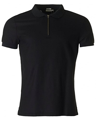 j-lindeberg-valiant-fluid-zip-neck-pique-polo-small-black
