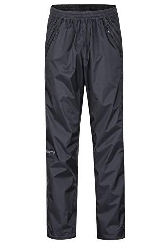 Marmot Herren PreCip Eco Full Zip Pant Hardshell Regenhose, Black, XXL