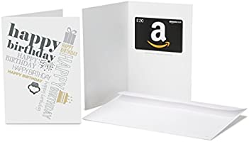 Amazon.co.uk Gift Card - In a Greeting Card - £20 (Birthday Many Ways)