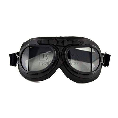 Unisex Motorrad Fahrradbrille Verstellbar Winddicht UV-Schutz Anti-Fog Kratzfest Retro Brille Outdoor Off-Road Zubehör