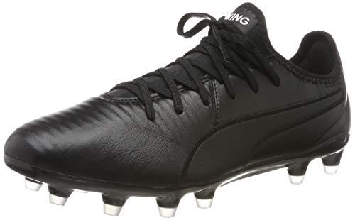 Puma Herren Fussballschuhe King Pro FG 105608 Puma Black-Puma White 42 (Kinder 1 Fußball Stollen)