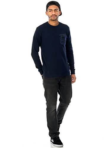 Herren Sweater DC Sykes Sweater Blau