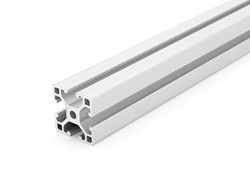 Preisvergleich Produktbild Aluminiumprofil 30x30L I-Typ Nut 6 - Standardlängen (9,90 EUR/m) 1200mm