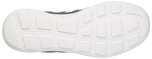 adidas Herren Cloudfoam Swift Racer Laufschuhe, Grau (Grey Four/Core Black/Footwear White 0), 46 EU - 3