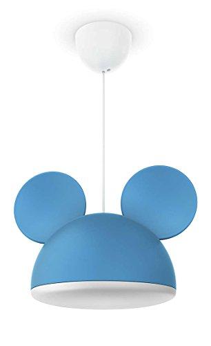Philips Disney Micky Maus Pendelleuchte, blau 717583016 (Maus Fotos Von Mickey)