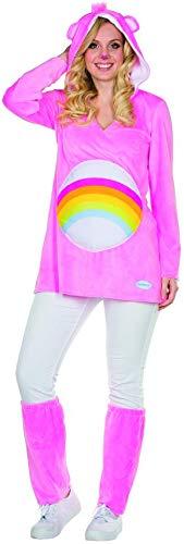 Kostüm Größe L Damen pink Regenbogen Bär Karneval ()