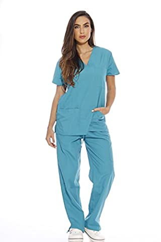 Just Love Women's Scrub Sets / Tunic and Trousers/ Medical/