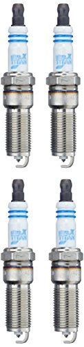 ford focus zuendkerzen BERU UXT7SB SB4 Ultra X Titan Spark Plug, Set of 4