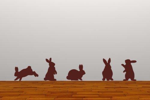 wandaufkleber-kaninchen-entfernbares-wandbild-fur-wohnzimmer-5-stuck-mattbraun